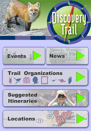 Discovery Trail iPhone Screenshot 1
