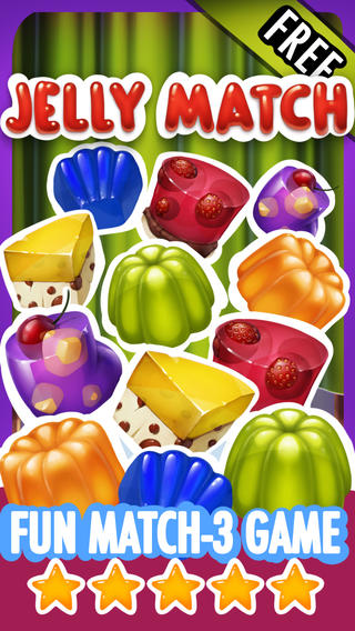 Jelly Match 3 Quest - Candy Jellies Matching Game Free
