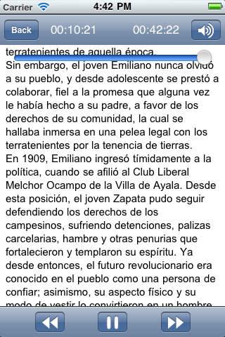 Audiolibro: Emiliano Zapata