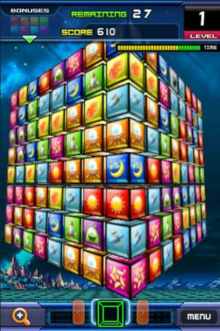 Match 3D Flick Puzzle FREE