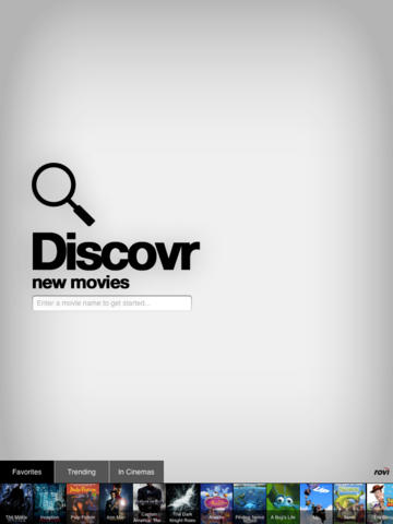 Discovr Movies - discover new movies