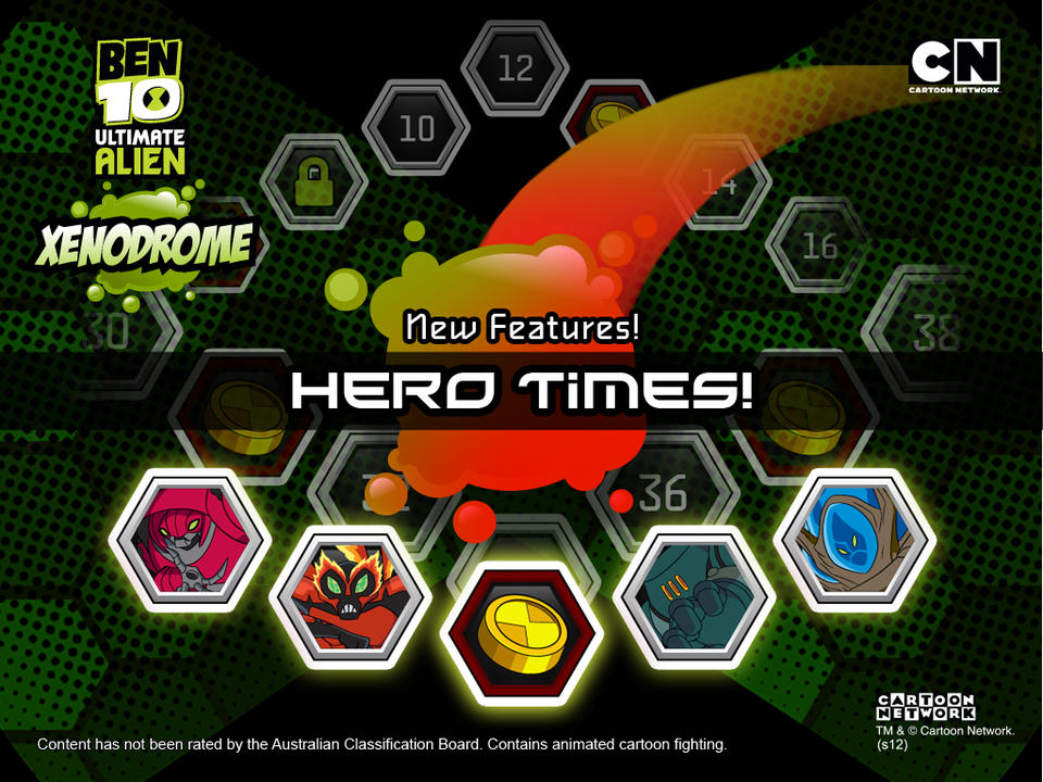 Ben 10 Ultimate Alien: Xenodrome - iPhone Mobile Analytics and App Store Data