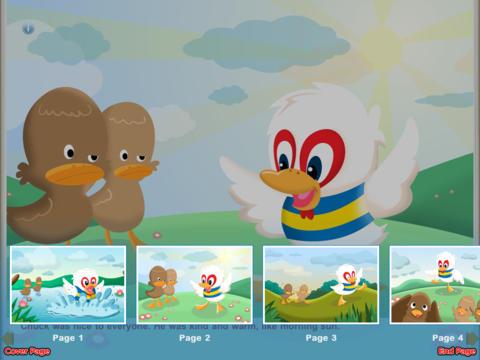 Lucky Chuck The Chicken Duck StoryChimes iPad Screenshot 4