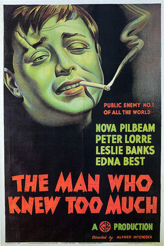 """appMovie """"The Man Who Knew Too Much""""- Alfred Hitchcock Classic screenshot 1"""