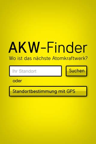 AKW Finder KKW Finder