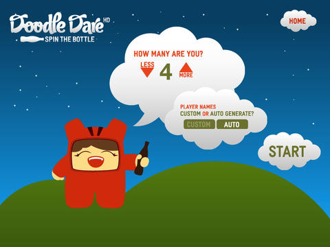 Doodle Dare HD iPad Screenshot 2