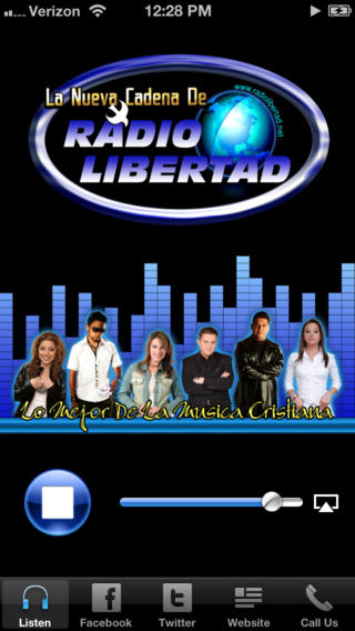 Radio Libertad iPhone Screenshot 1
