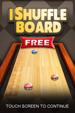 iShuffleBoard Free iPhone Screenshot 1