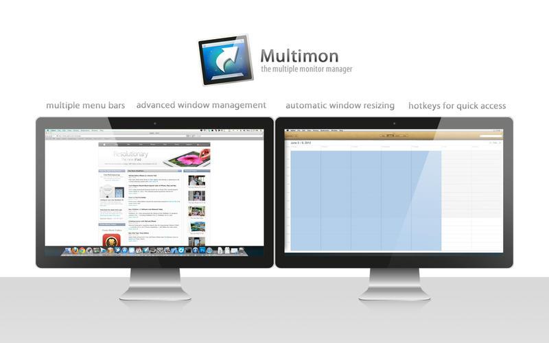 处理及设置Mac 多萤幕显示器 Multimon for Mac
