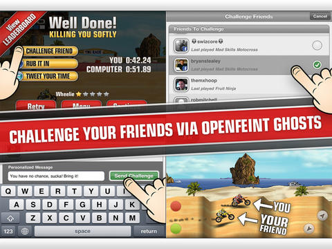 Mad Skills Motocross iPad Screenshot 5