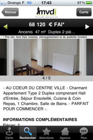 Agences immobilières MVDI