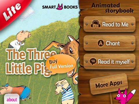 ThreePigs Lite[HD]-Animated storybook
