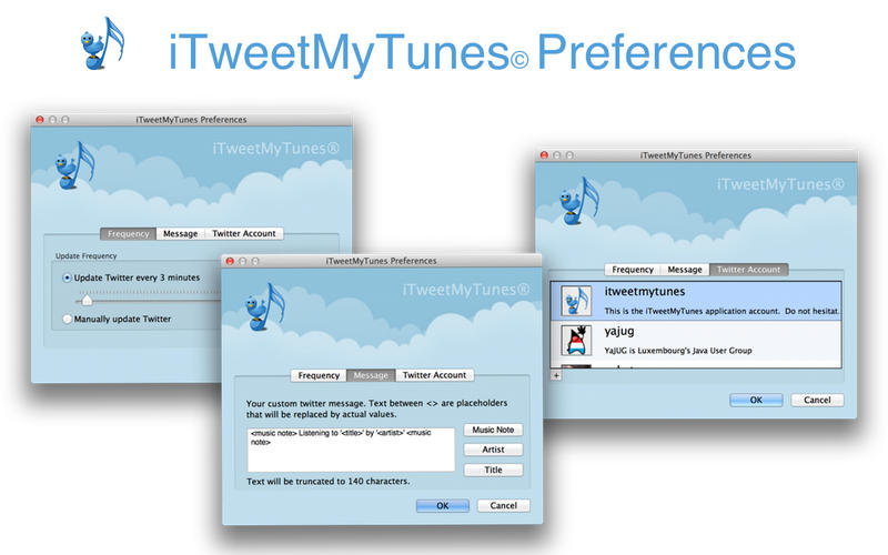 iTweetMyTunes Screenshot - 2