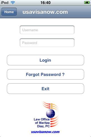 usavisanow iPhone Screenshot 1