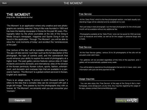 The Moment iPad Screenshot 5