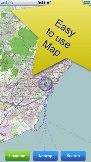 Barcelona No.1 Offline Map