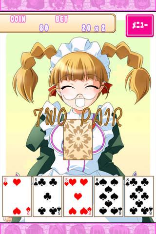 Poker with Meid Girls