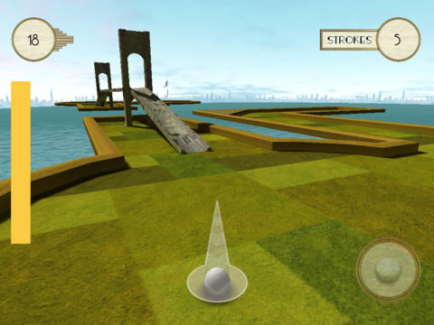 Gatsby's Golf Lite iPad Screenshot 1