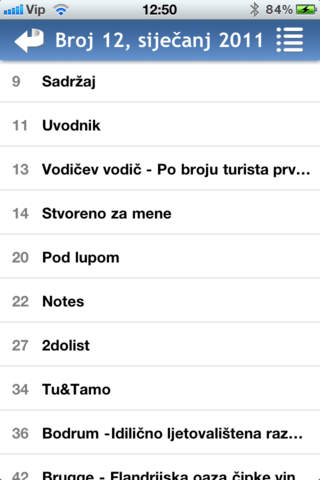 Croatian Traveller iPhone Screenshot 3