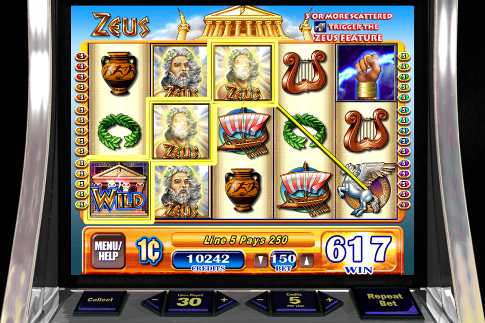 Free casino games zeus online casino taking amex