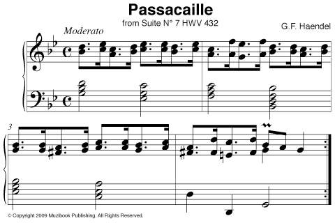 Passacaille Haendel 250th