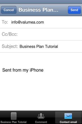 Business Plan Tutorial