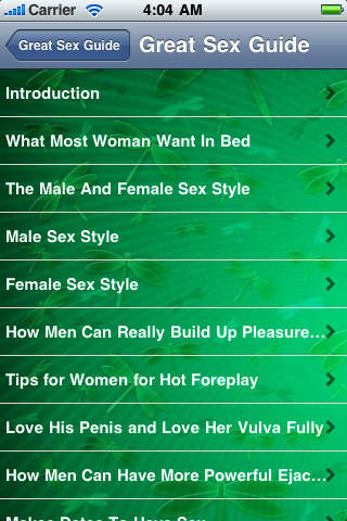 A Guide Of Great Sex For Men And Women screenshot 3