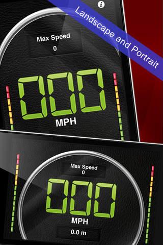 Speedometer! iPhone Screenshot 2
