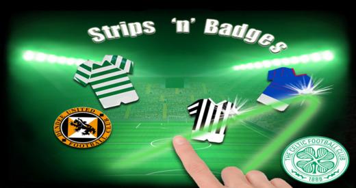 Celtic FC Strips'N'Badges