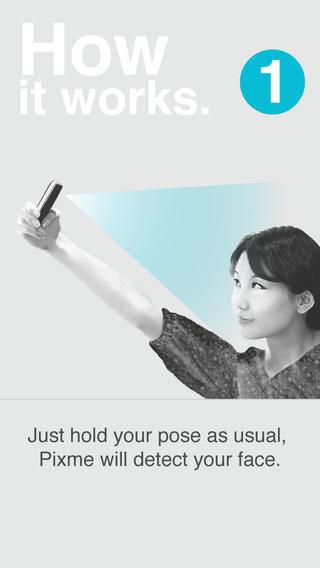 Pixme Lite : The best selfie app for iPhone