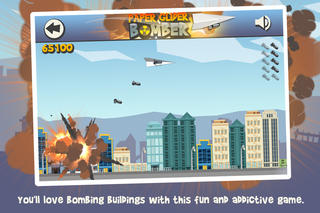 Screenshots of Paper Glider Bomber for iPhone
