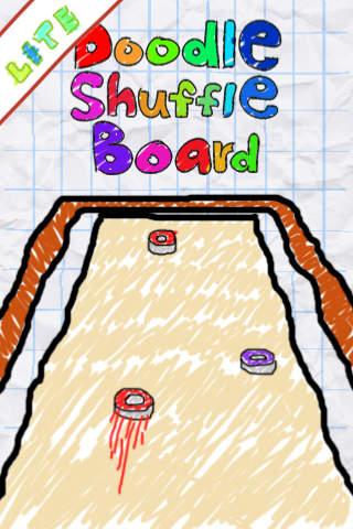 Doodle Shuffle Board Lite iPhone Screenshot 1