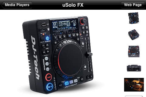 DJ Tech Mobile Catalog