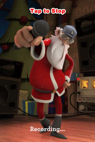 Singing Santa screenshot 2