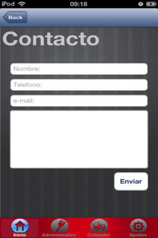 Screenshot of Impulso