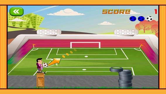 Football ball shooting contest university championship - Free Edition