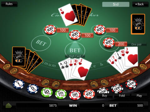 New Oasis Poker iPad Screenshot 4