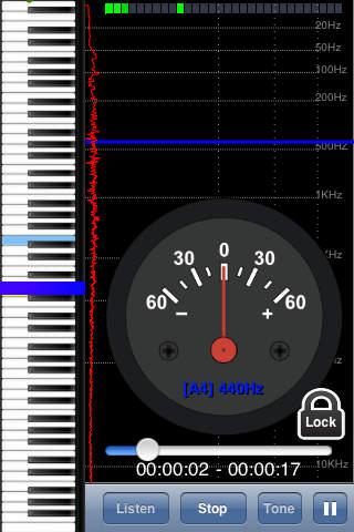 Piano Tuning DIY iPhone Screenshot 4