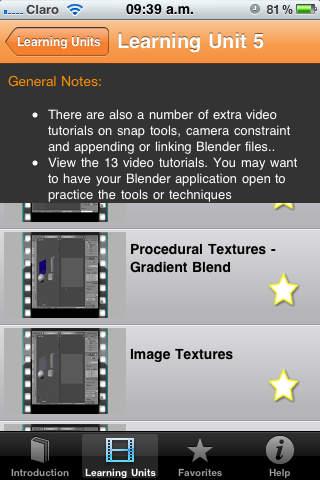 Teach me 3D Design with Blender 3D 2.5 iPhone Screenshot 5