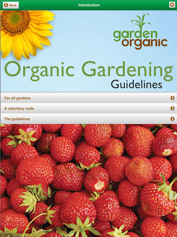 Organic Gardening Guidelines - for all gardeners, worldwide. screenshot