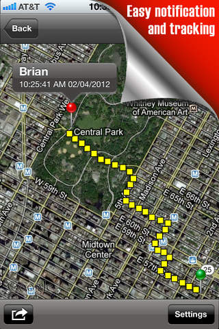 Track & Follow (Follow others with your iPhone) screenshot 3