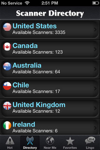 Police Scanner Radio screenshot 2
