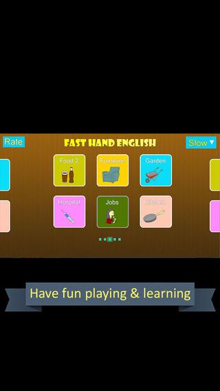 Fast Hand English