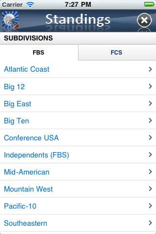 College Football News iPhone Screenshot 3