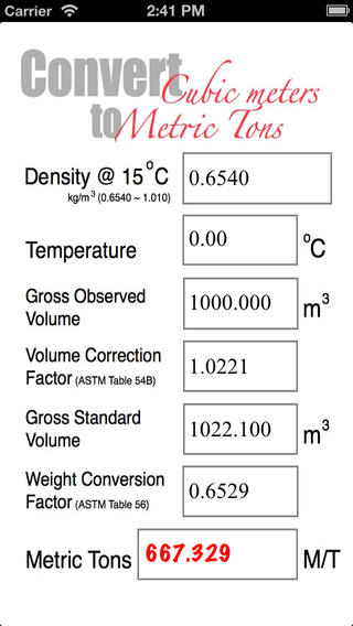 Marine Fuel Calculator