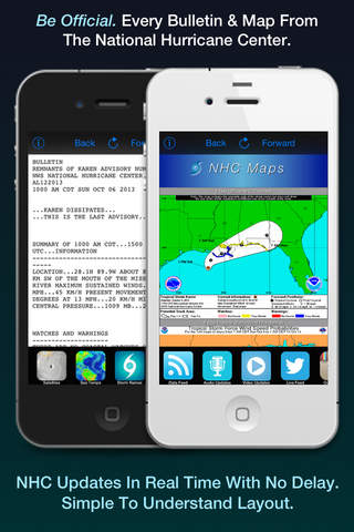 Hurricane Tracker screenshot 2