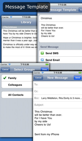MessageGo - Group Manager & Group Message iPhone Screenshot 5