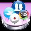 社交网络集合客户端 Social Pro   for Mac