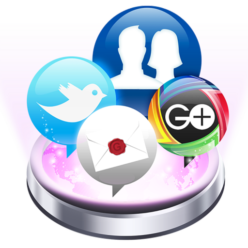 Social Pro for Facebook Twitter Gmail Google+