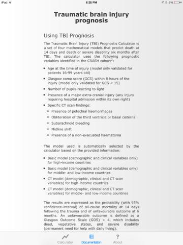 【免費音樂App】TBI Prognosis-APP點子